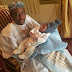Photo of Emir of Kano and his grandson