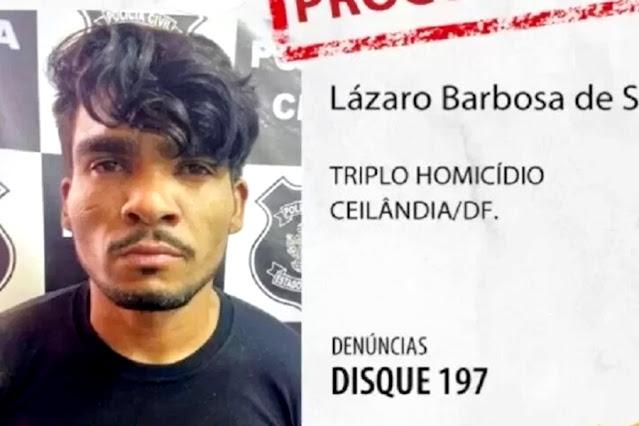 Vídeo: assassino Lázaro Barbosa está morto, diz Polícia de Goiás