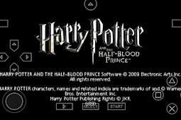 Harry Potter And The Half Blood Prince PPSSPP