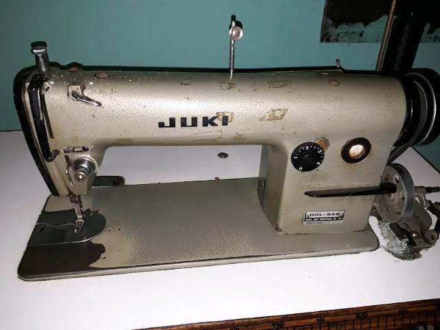 Mi segunda máquina de coser