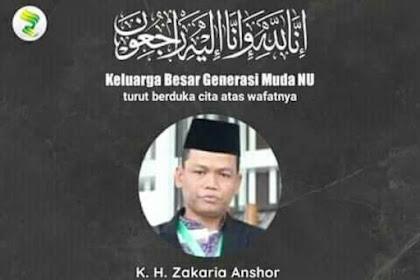 Kabar Duka, Pengurus PCNU Kota Pekalongan KH Zakaria Ansor Wafat
