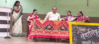 #JaunpurLive : ममता महादेव राऊत की मनपा शिक्षकों ने की विदाई