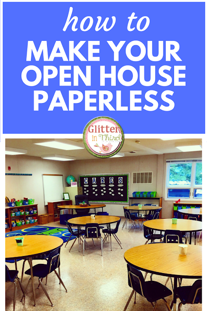 Make your Open House paperless with Google Forms!