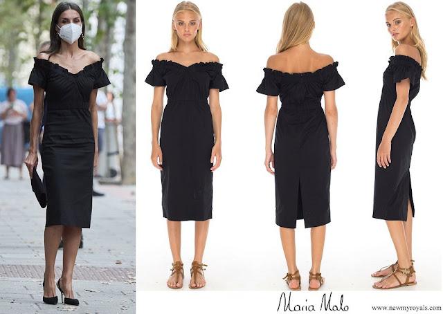 Queen Letizia wore Maria Malo Lolita Dress Black