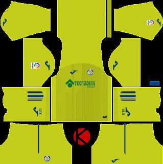 Getafe CF 2017/18 - Dream League Soccer Kits