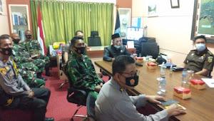 Wakili Dandim, Pasi Ops Hadiri Rakor Virtual Sukses Pilkada