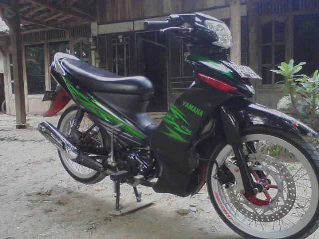 Modifikasi Motor Vega ZR 2011 Terbaru