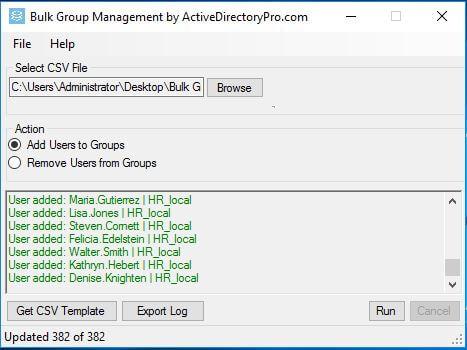 كيفية إضافة مستخدمين إلى مجموعات الـ Active Directory