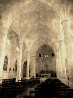 Interior da Igreja Matriz São João Batista, em Marcelino Ramos