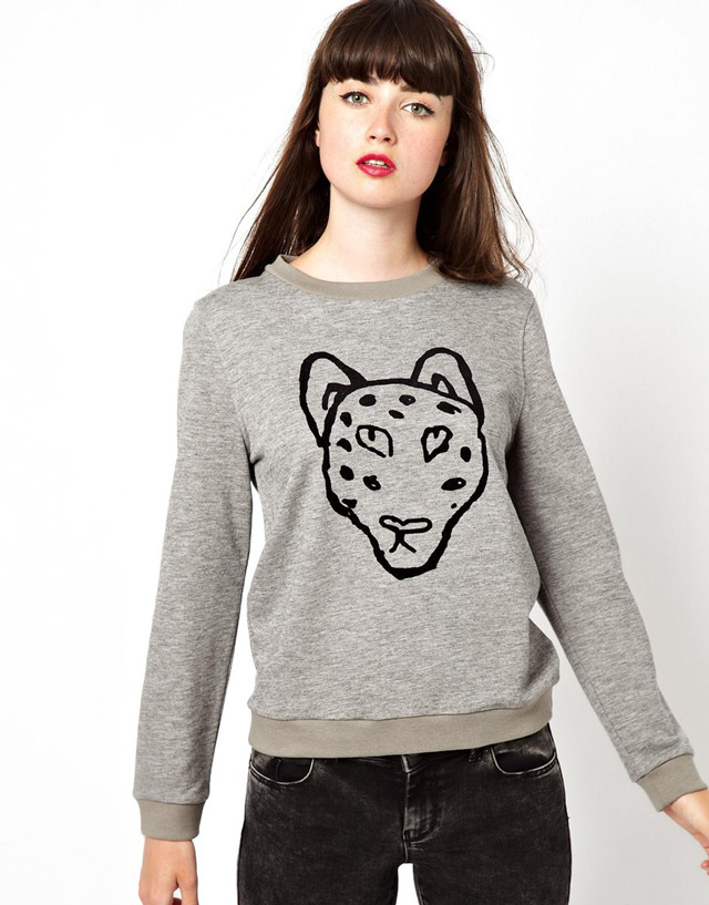 Sweatshirt by Boutique by Jaeger Made