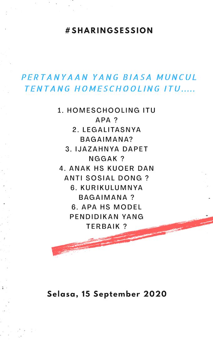 #Sharingsession - homeschooling