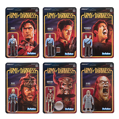 Army of Darkness ReAction Figures Series by Super7