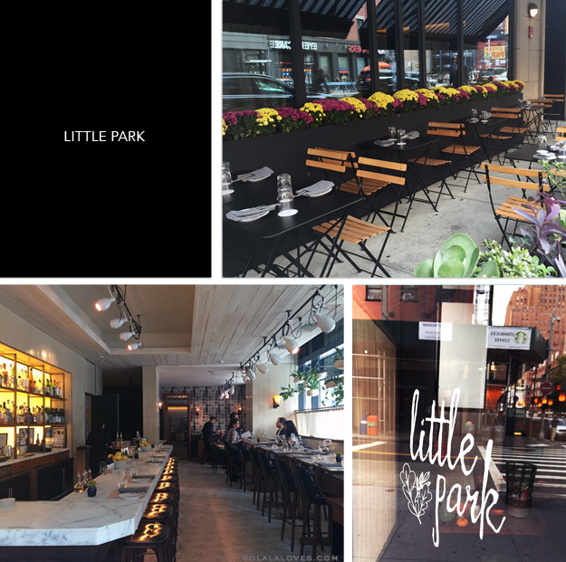 Little Park Restaurant Week, Little Park Review
