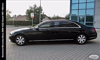 Stretched, Armored MB S600 V222 Guard VR9