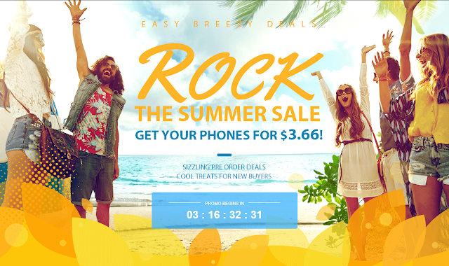 rock the summer sale gearbest