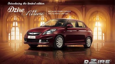 2017 Maruti Suzuki Swift Dzire Allure Limited Edition picture
