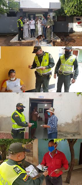Policía Cesar se tomó Los Venados