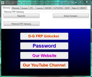 How To Download D-G FRP Some Mobile Unlock Tool Latest Update 2020 Free Password Download To AndroidGSM