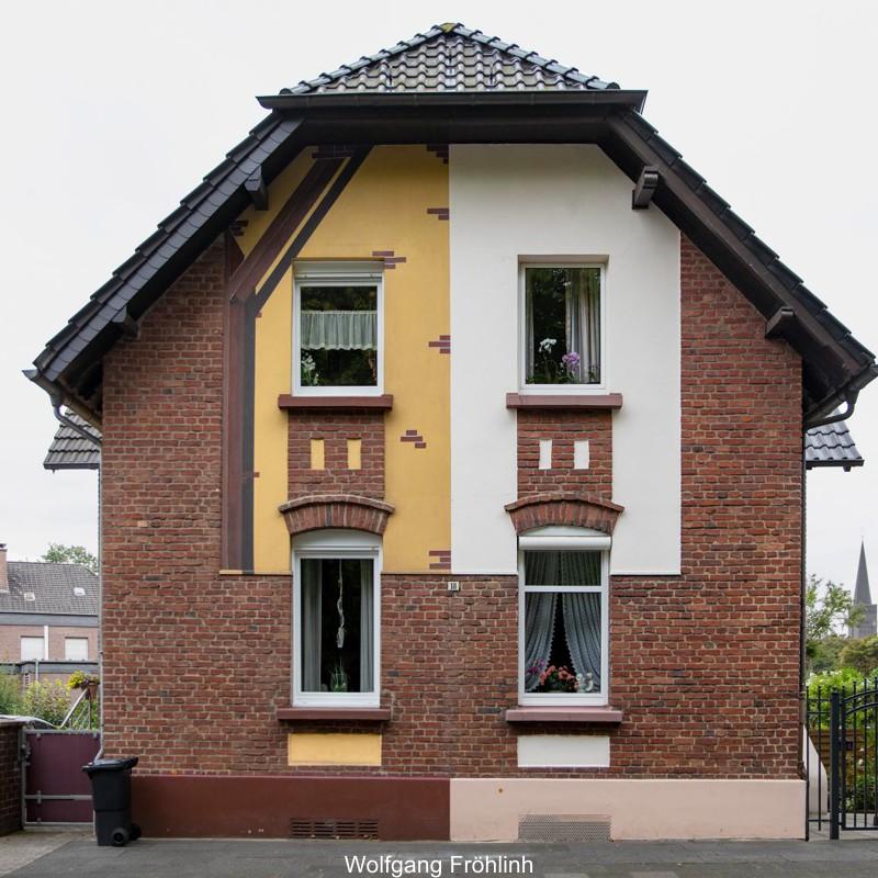 Casas semi-renovadas de Ruhrgebiet e a gentrificação
