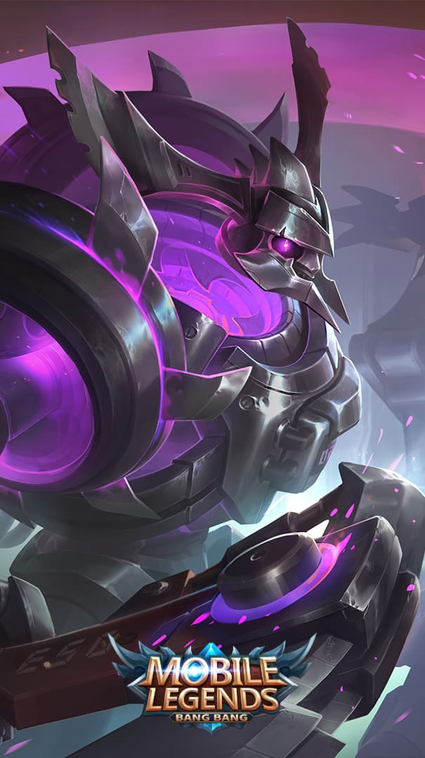 Wallpaper Thamuz Abyssal Reaper Skin Mobile Legends Full HD for Android and iOS