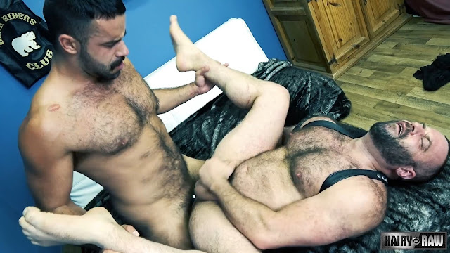 Matthieu Angel and Teddy Torres (Bareback)