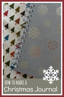 How to make a Christmas journal diary