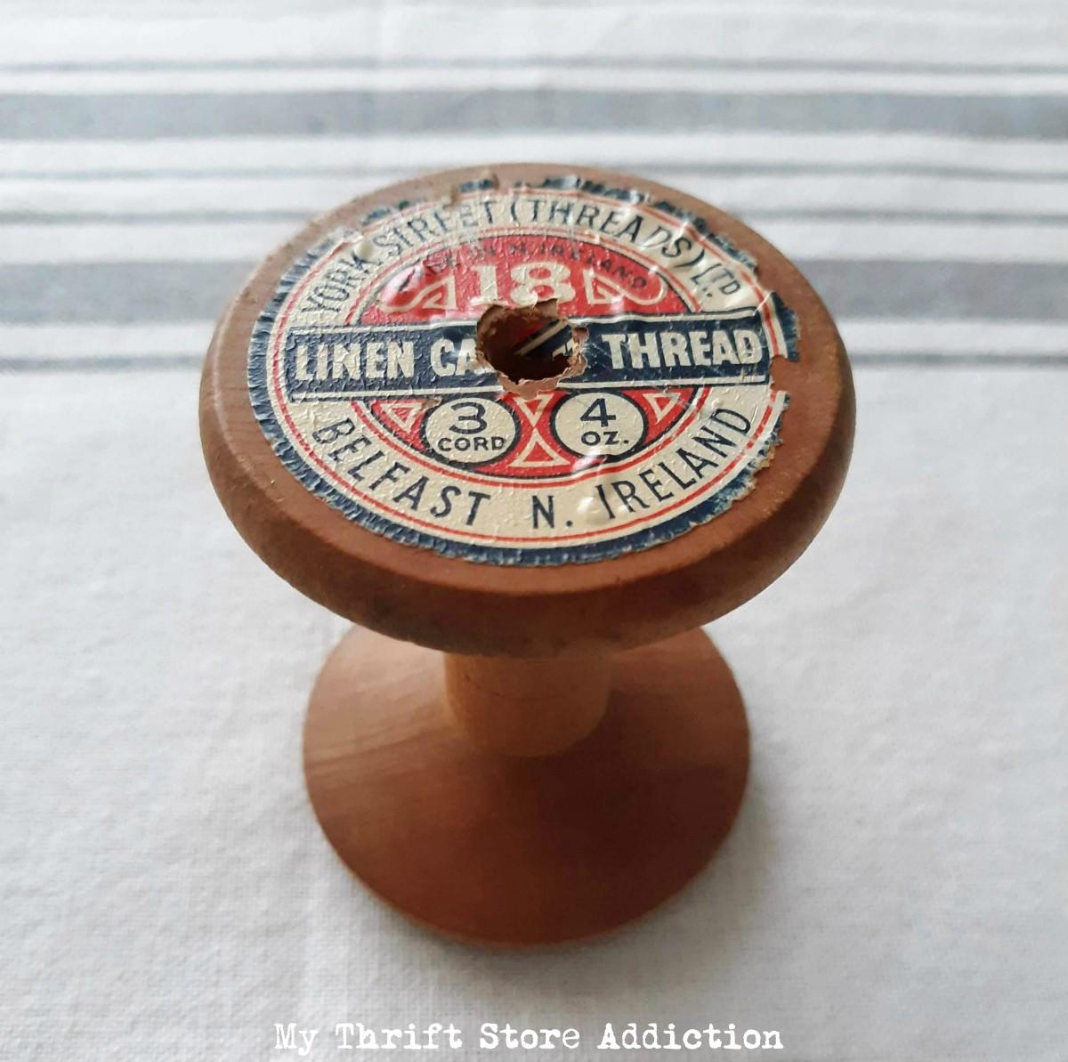 short vintage bobbin