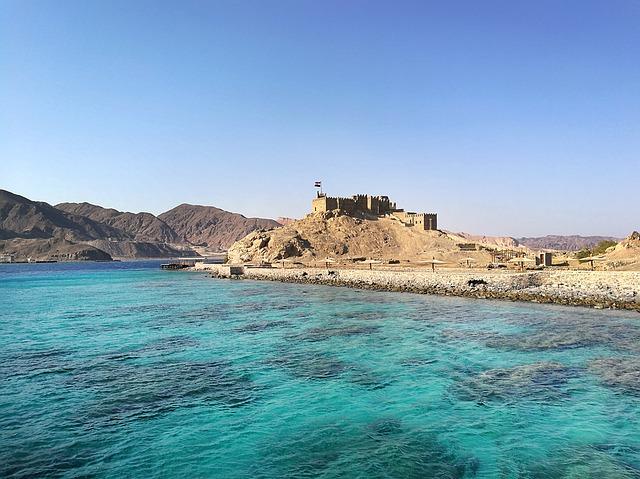 Mar Vermelho, Egito