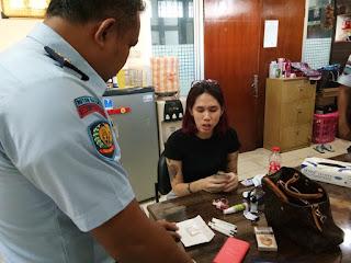 Hebat Polsustan Wanita Berhasil Gagalkan Penyeludupan Sabu