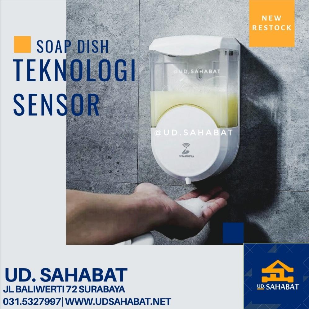 jual tempat dispenser sabun cair otomatis sensor ud sahabat surabaya