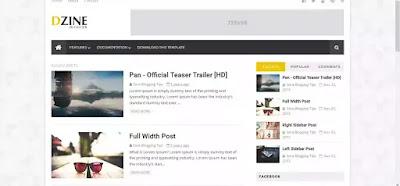 blog template free