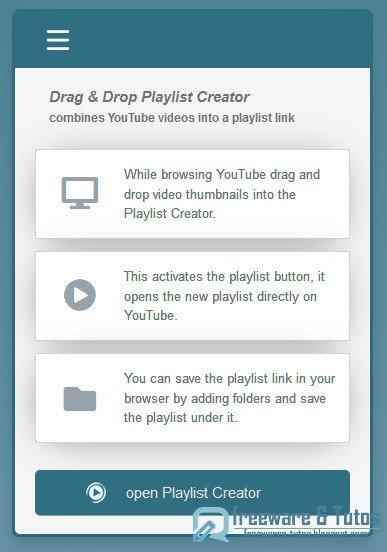 Drag & Drop Playlist Creator : créez une playlist YouTube sans être connecté à votre compte Google
