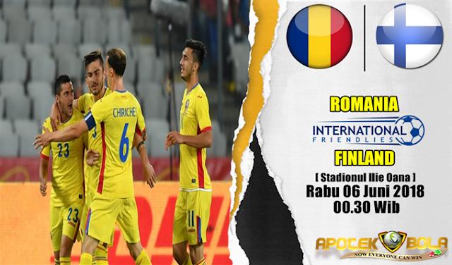 Prediksi Romania vs Finland 6 Juni 2018