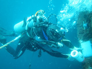 uji Cathodic Protection bawah air