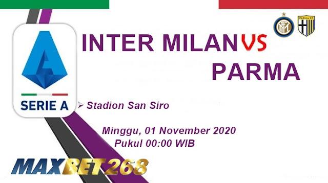 Prediksi Inter Milan Vs Parma, Minggu 01 November 2020 Pukul 00.00 WIB @ RCTI