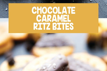 CHOCOLATE-CARAMEL RITZ BITES