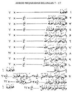 Mujahadah Usbuiyah Pengamal Sholawat Wahidiyah