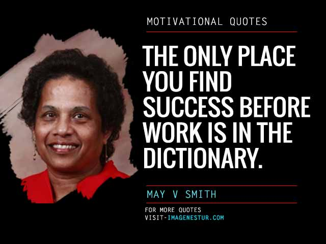 Motivational Quotes by May V Smith