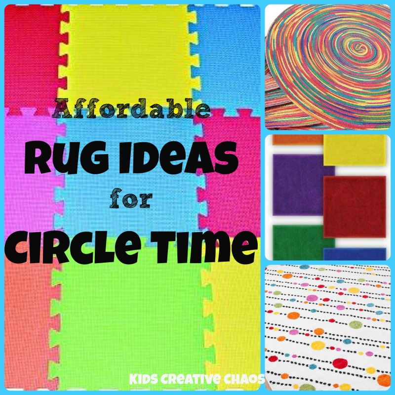 Do You Have A Special Rug For Circle Time Or Group Gatherings