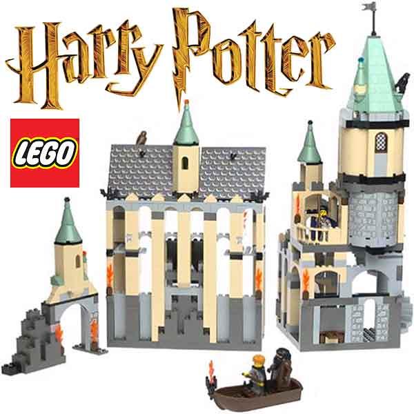 lego harry potter hogwarts castle sets and brick model