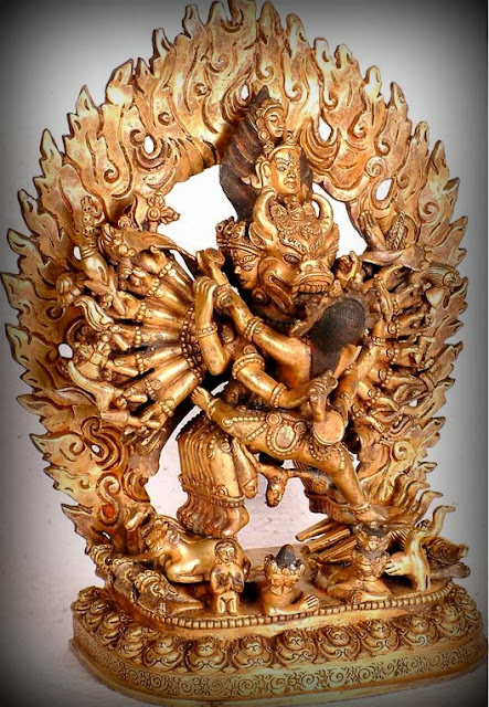 Yamantaka Shiva in Yab-Yum formation