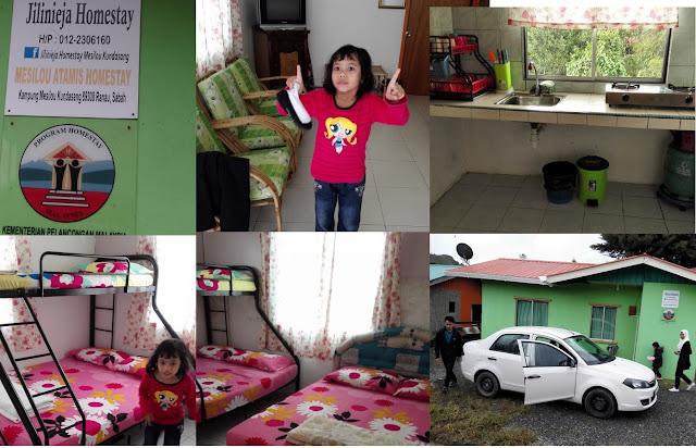 Homestay sekitar Kundasang, Homestay Ranau, Nak sewa homestay Kundasang