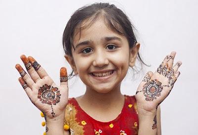 Temporary Henna Tattoo For Child
