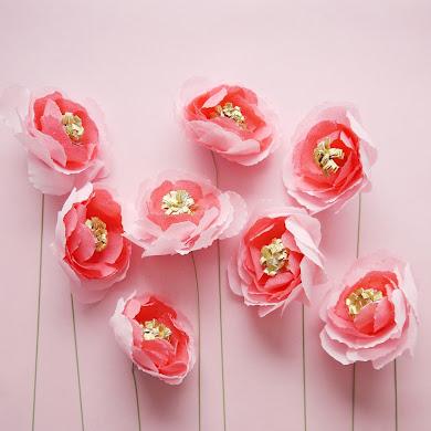 DIY Bouquet de Fleurs en Papier pour la Fête des Mères