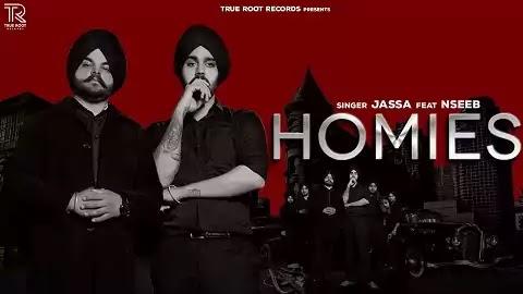 Homies Lyrics in Punjabi Font   Jassa, Nseeb