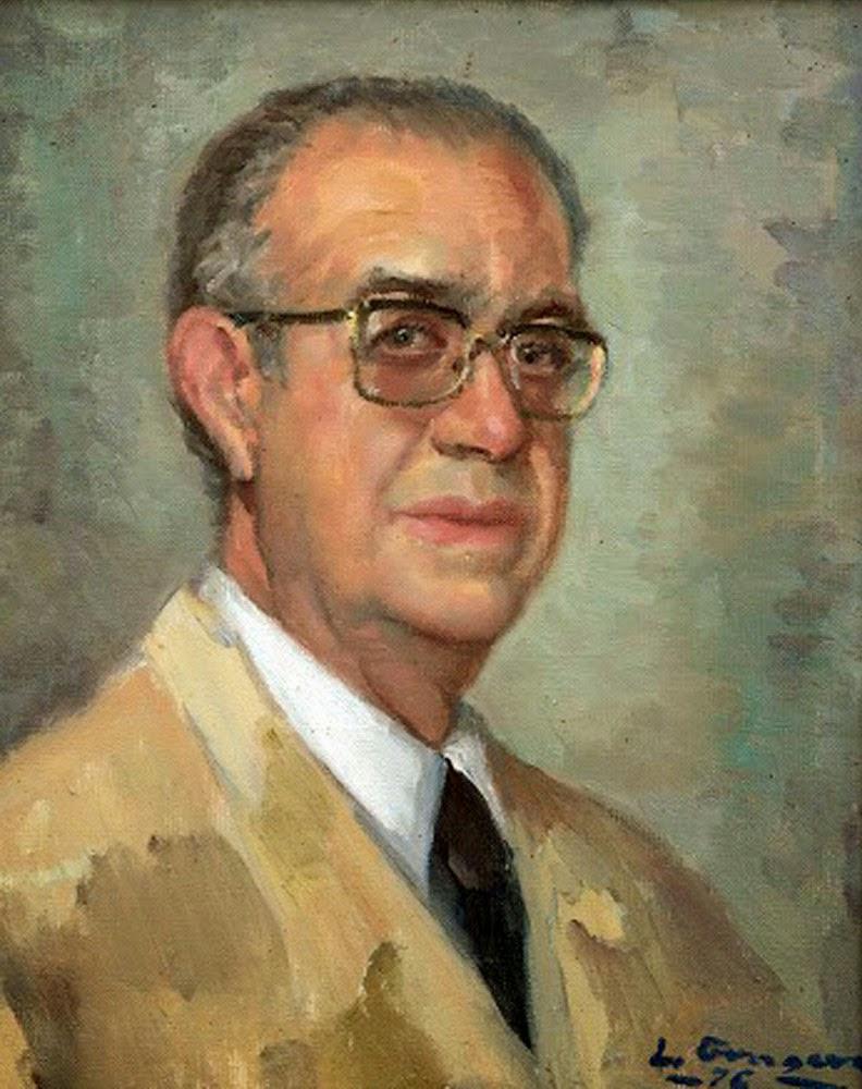 Leopoldo Gragera Castillo, Self Portrait, Portraits of Painters, Fine arts, Portraits of painters blog, Paintings of Leopoldo Gragera, Painter  Leopoldo Gragera, Autorretrato