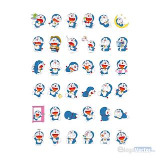Doraemon Cartoon Logo vector (.cdr)