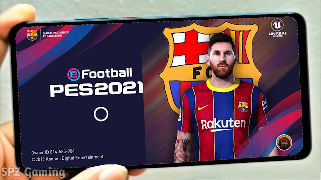 eFootball PES 2021 Mobile New Menu Original Logo and Kits Patch Android Best Graphics