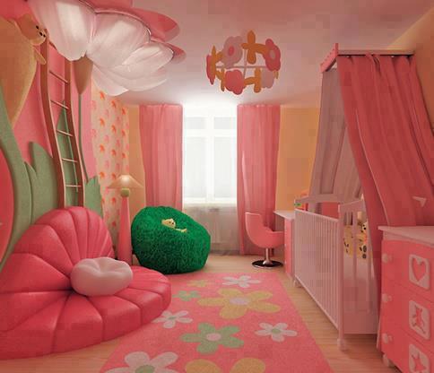 Fotos de habitaciones de bebe for Cuartos de ninas vonitas