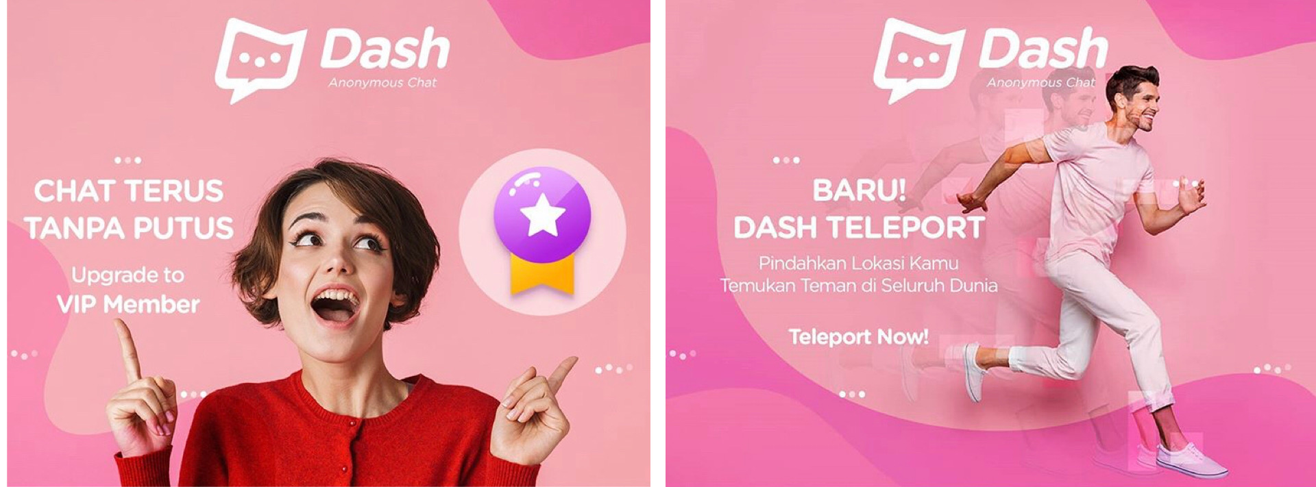 Review Aplikasi Dash Chat